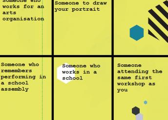 Creative Schools Bingo 2